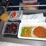 デルタ航空 機内食 - グアム 2011