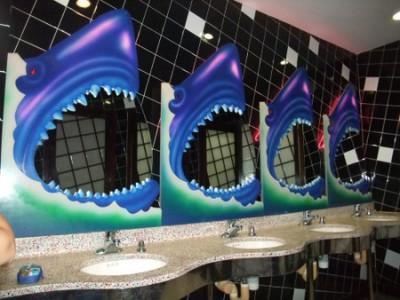 プラネットハリウッド トイレ