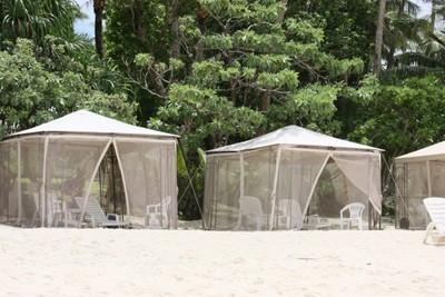ココパームビーチ カバナ