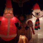 クリスマスライト(イルミネーション)を見てきました - カリフォルニア旅行記4