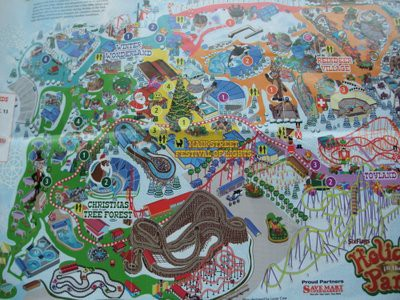 DISCOVERY KINGDOM 地図