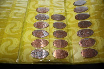 スーベニアコインの収納部分
