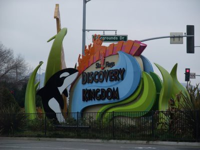 Six Flags DISCOVERY KINGDOM  入口