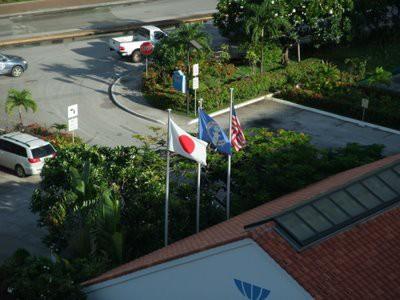 サイパンに日本の国旗!